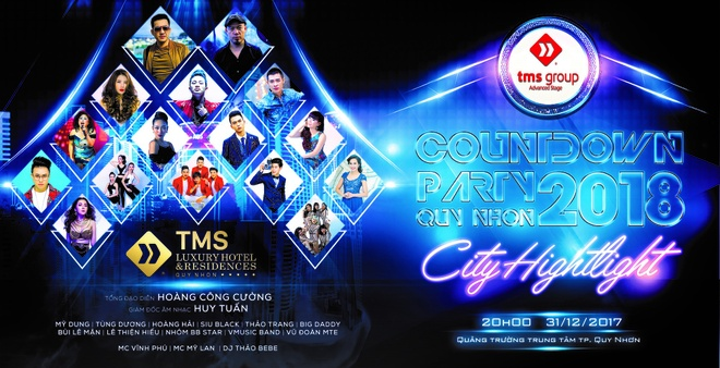 TMS Countdown Party - Quy Nhon 2018 anh 1