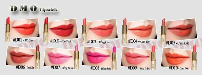 DMO Lipstick duoc cong nhan la thuong hieu xuat sac 2017 hinh anh 3