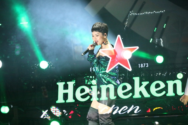 Nhin lai khoanh khac giao thua an tuong tai 'Heineken Countdown Party' hinh anh 7