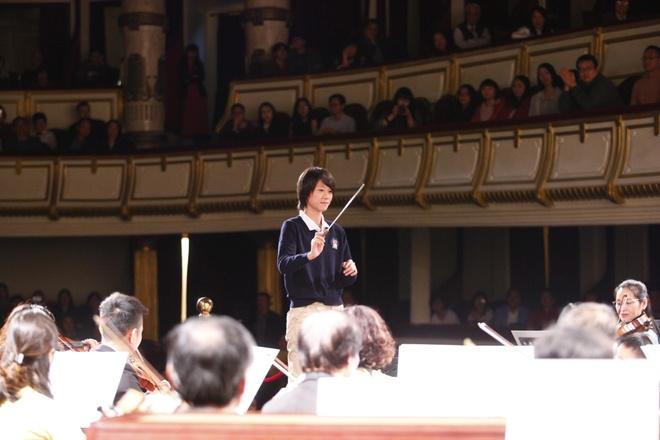 'Bong hong violin' Kawakubo Tamaki tham gia dem nhac 'Hanh phuc' hinh anh