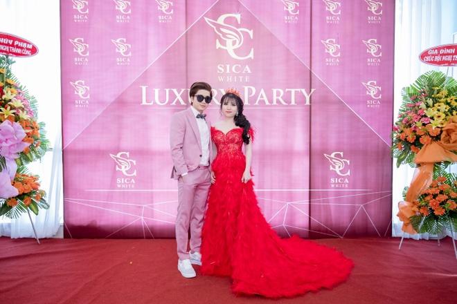 Chi Dan dien trai du 'Luxury Party – Da tiec tri an' hinh anh 1