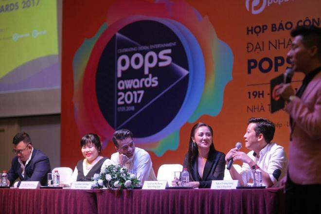 Nhung diem moi cua giai thuong POPS Awards 2017 hinh anh 2
