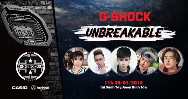 4 hoat dong hap dan tai 'Casio G-Shock Unbreakable Challenge Day' hinh anh