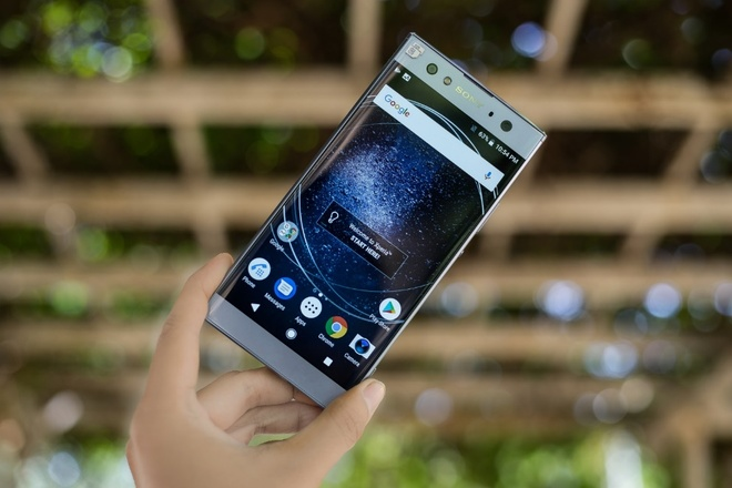 3 smartphone selfie moi cua Sony tai CES 2018 hinh anh