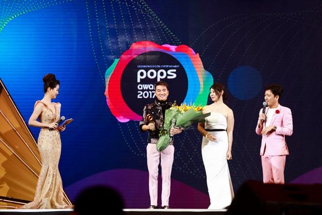Dam Vinh Hung, Ha Anh Tuan duoc vinh danh tai POPS Awards 2017 hinh anh