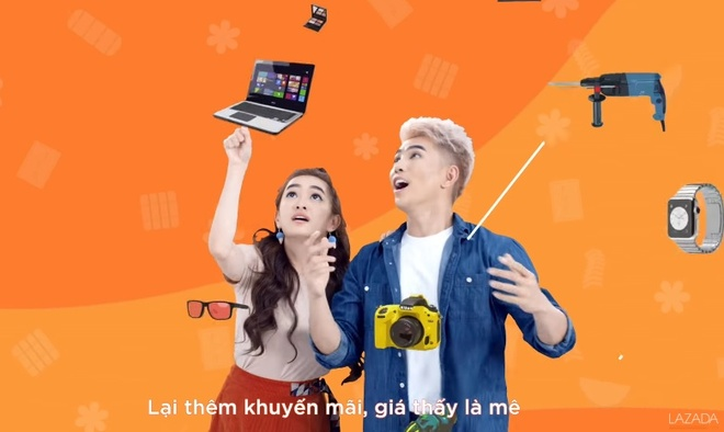 Theo chan Will - Kaity sam tet, san hang giam gia tren Lazada hinh anh