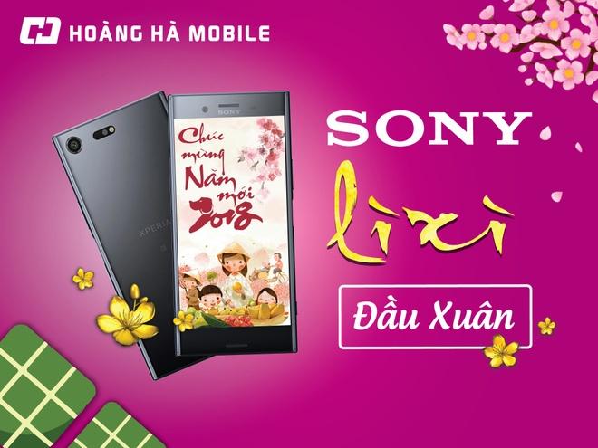 Mua dien thoai Sony, nhan li xi 500.000 dong tu Hoang Ha Mobile hinh anh