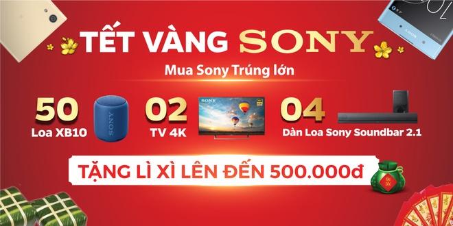Mua dien thoai Sony, nhan li xi 500.000 dong tu Hoang Ha Mobile hinh anh 2