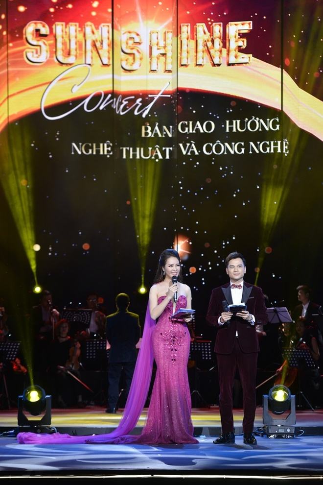 Le Quyen, Tuan Hung hoi ngo trong dem nhac 'Sunshine Concert 2018' hinh anh 11