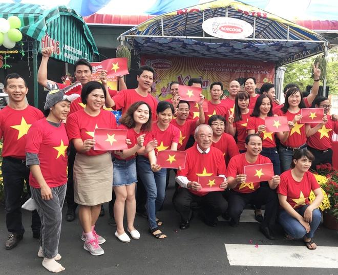 Acecook Viet Nam tang 500 trieu dong cho doi tuyen U23 Viet Nam hinh anh 1