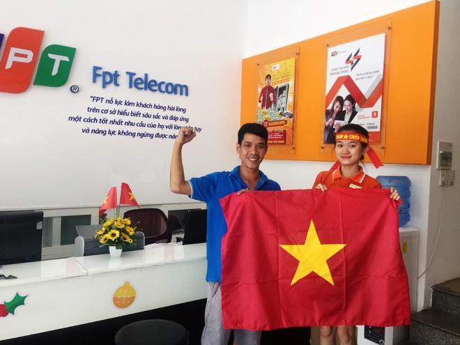 FPT Telecom tang 13.000 la co co vu U23 Viet Nam hinh anh 2