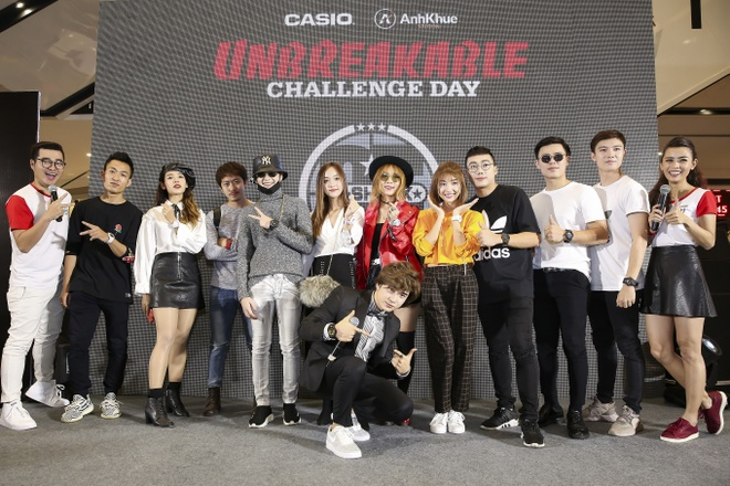 Chi Dan cung dan sao khuay dong ngay hoi Casio G-Shock hinh anh 13