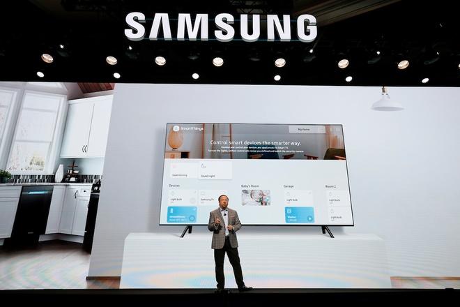 Samsung ban ra 1,2 trieu TV, dan dau thi truong man hinh lon hinh anh