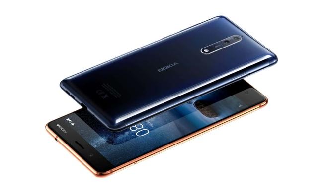 Nhan li xi 3 trieu dong khi mua Nokia 8 chinh hang hinh anh 1