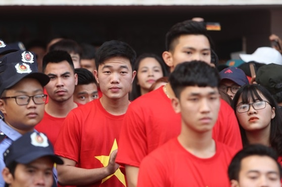 U23 Viet Nam va nhung khoanh khac dang nho voi nguoi ham mo TP.HCM hinh anh