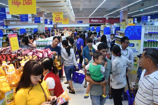 Loat san pham khuyen mai chi tu 3.200 dong tai Co.opmart Hong Ngu hinh anh 1