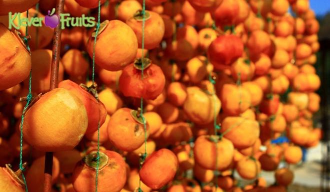 Hong deo Han Quoc say nang - thuc qua Tet la mieng tai Klever Fruits hinh anh 1