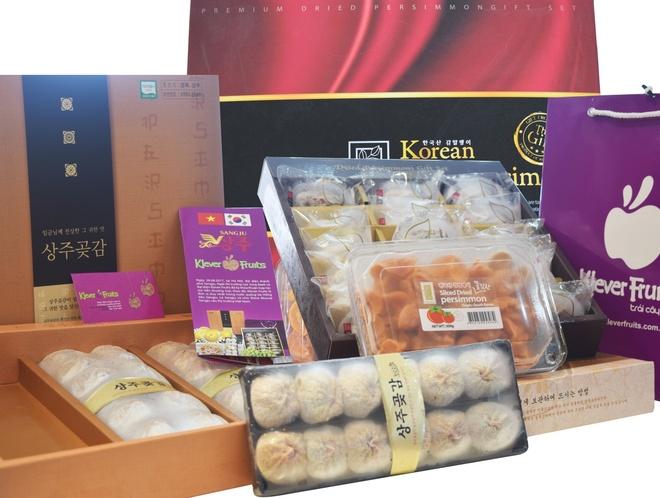 Hong deo Han Quoc say nang - thuc qua Tet la mieng tai Klever Fruits hinh anh 2