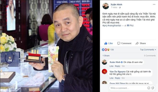 NSUT Xuan Hinh, Thu Trang di mua vong phong thuy ngay via Than tai hinh anh 5