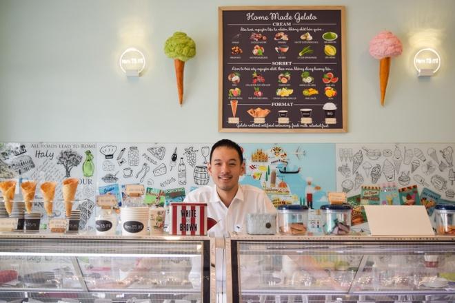 Thuong thuc gelato kieu Y giua long Sai Gon hinh anh 1