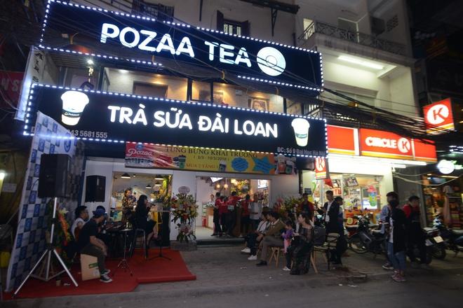 Pozaa Tea khai truong cua hang thu 12 tai DH Ha Noi hinh anh 1