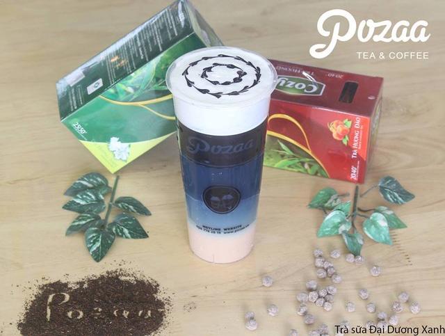 Pozaa Tea khai truong cua hang thu 12 tai DH Ha Noi hinh anh 3