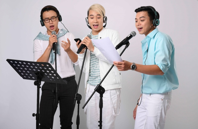 Karik, Quang Bao, Lan Nha moi fan nu 'viet chuyen tuong lai' hinh anh 2