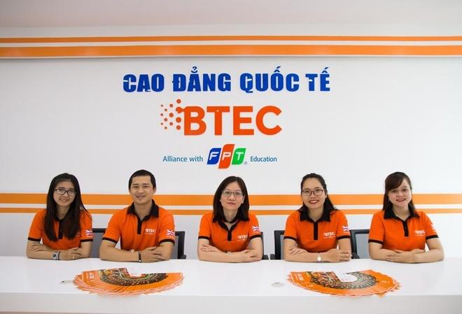 Cao dang Quoc te BTEC FPT Da Nang chinh thuc di vao hoat dong hinh anh