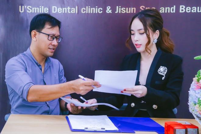 Ji Sun Spa and Beauty va Nha khoa U Smile Dental Clinic ky ket hop tac hinh anh 3