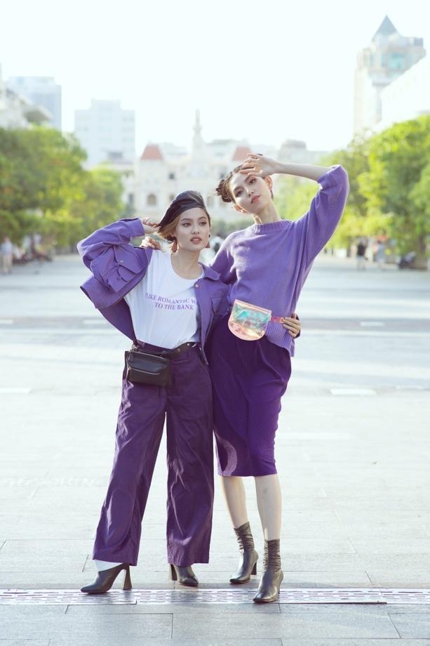 Chup anh street style sang chanh nhu Fung La, Thuy Duong hinh anh 1