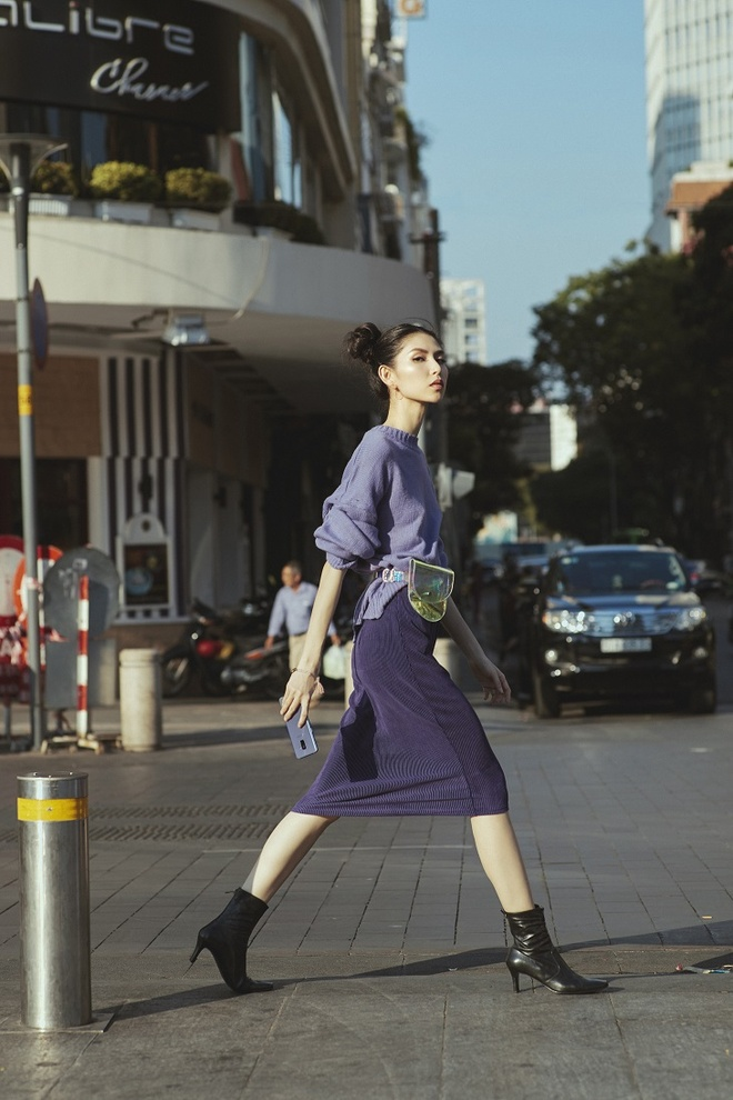 Chup anh street style sang chanh nhu Fung La, Thuy Duong hinh anh 5