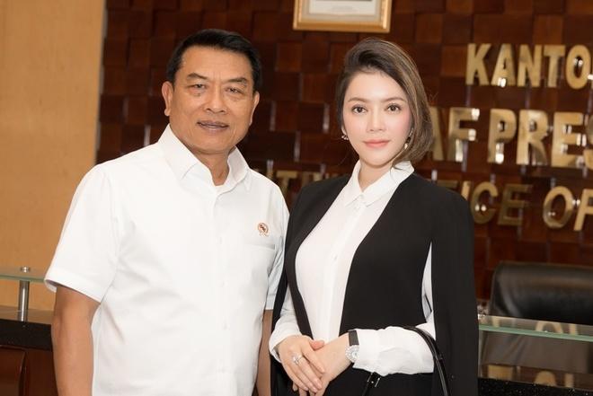 Ly Nha Ky gap go Chanh Van phong Phu Tong thong Indonesia hinh anh