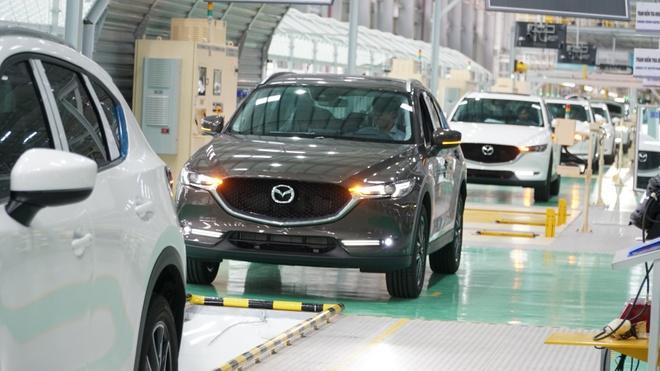 Nha may Mazda lon nhat DNA cua Thaco co cong suat 100.000 xe/nam hinh anh