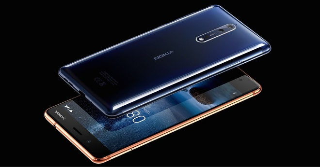 Nokia 8 trang bi camera kep, thiet ke nguyen khoi hinh anh 3