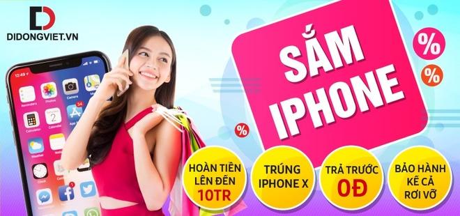 Co hoi trung iPhone X, hoan tien cao khi mua iPhone tai Di dong Viet hinh anh 1