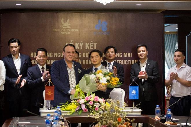 Tan Hoang Minh ky HD tong thau thiet ke, thi cong du an Tan Hoang Mai hinh anh 1