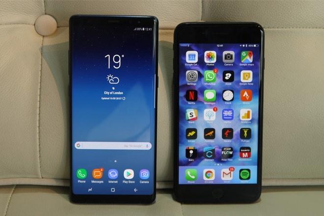 Galaxy Note 8, iPhone 7 Plus giam gia sau tai Di Dong Viet hinh anh