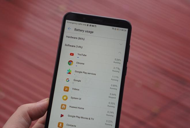 Huawei Y7 Pro tieu thu pin ra sao? hinh anh 1