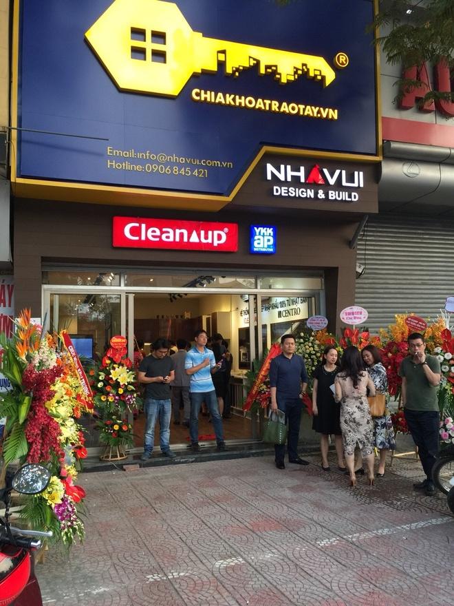 Nha Vui khai truong showroom tu bep Cleanup thu 2 tai Ha Noi hinh anh 1