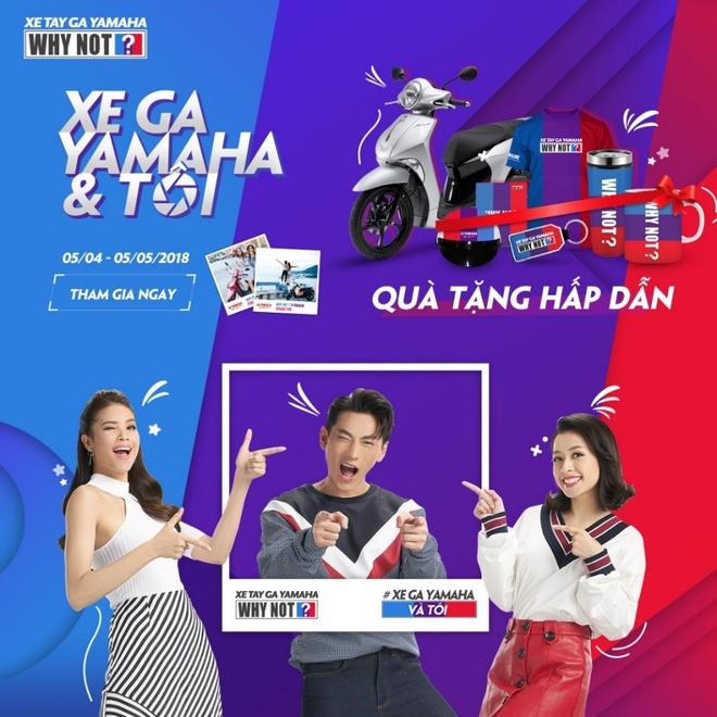 Khoanh khac an tuong cua sao Viet trong 'Xe ga Yamaha & toi' hinh anh 1