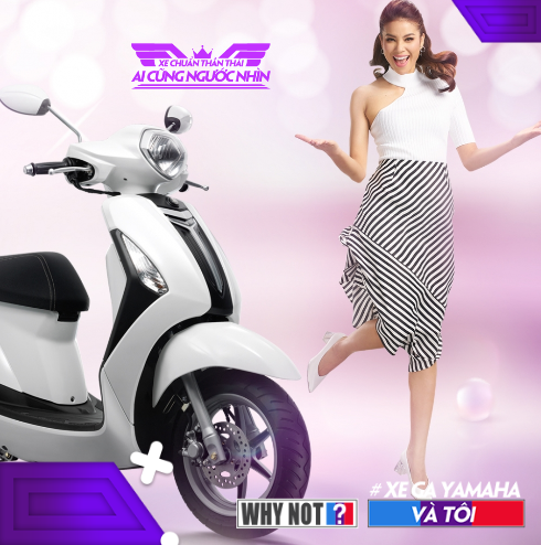 Khoanh khac an tuong cua sao Viet trong 'Xe ga Yamaha & toi' hinh anh 3