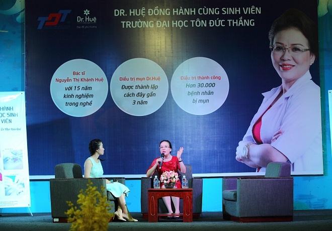 Trung tam tri mun Dr. Hue dong hanh cung sinh vien DH Ton Duc Thang hinh anh 9