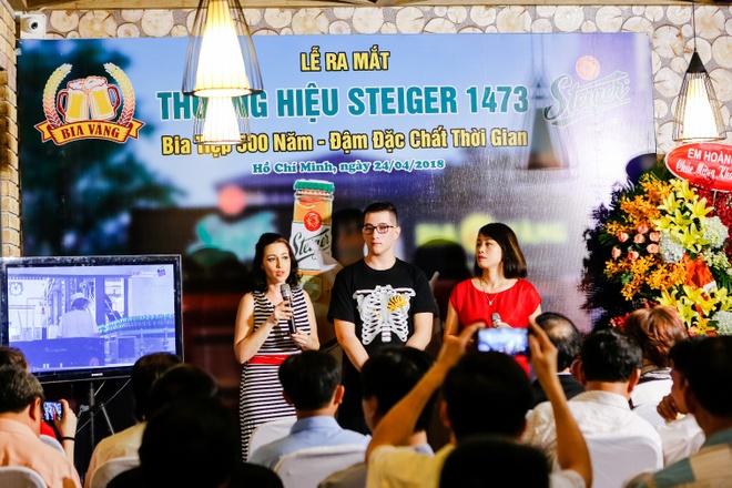 Thuong hieu bia Steiger 500 nam tuoi chinh thuc co mat tai Viet Nam hinh anh 1