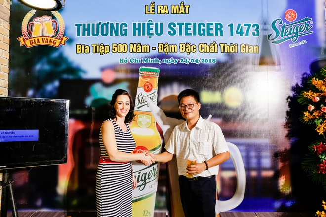 Thuong hieu bia Steiger 500 nam tuoi chinh thuc co mat tai Viet Nam hinh anh 2