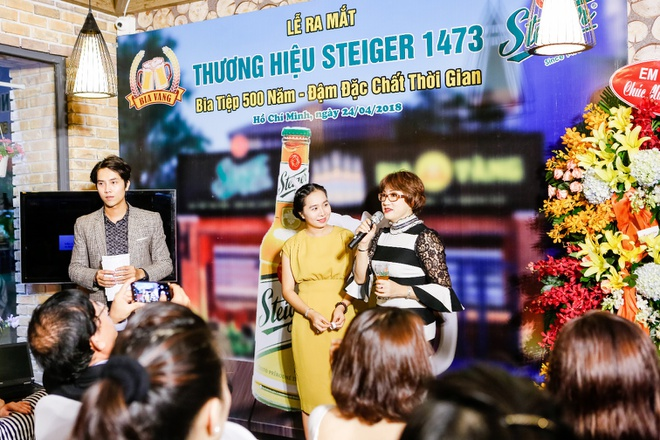 Thuong hieu bia Steiger 500 nam tuoi chinh thuc co mat tai Viet Nam hinh anh 4
