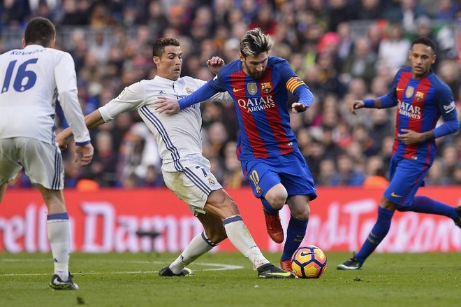 'Sieu kinh dien' Barcelona - Real Madrid thoi bung cuoc chien danh du hinh anh