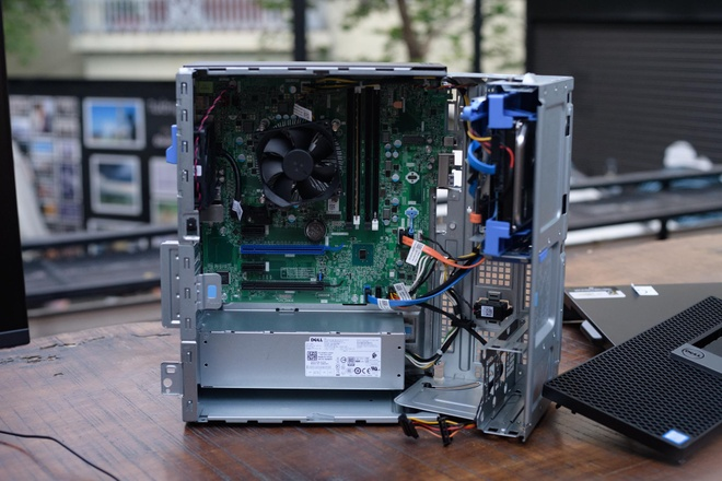 Dell OptiPlex 5050MT: Chip Kaby Lake, gia duoi 14 trieu dong hinh anh 2