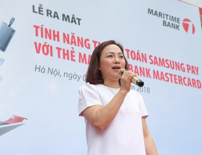 Maritime Bank trien khai Samsung Pay cho chu the Mastercard hinh anh 1