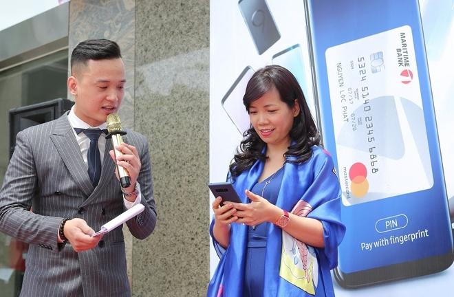Maritime Bank trien khai Samsung Pay cho chu the Mastercard hinh anh