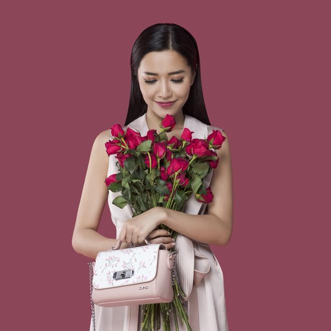 Bich Phuong phai long hoa tiet thien dieu trong BST 'Shades of love' hinh anh 5